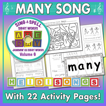 Sing & Spell Sight Words - MANY