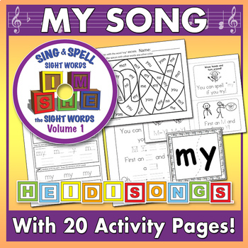 Sing & Spell Sight Words - MY