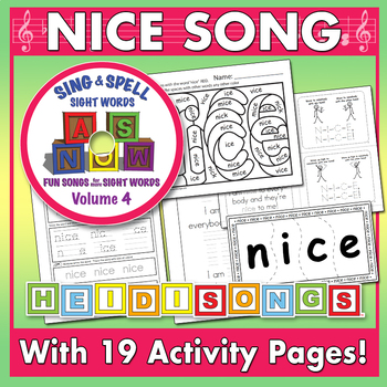 Sing & Spell Sight Words - NICE