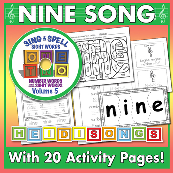 Sing & Spell Sight Words - NINE