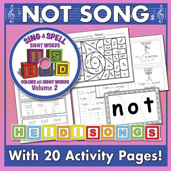 Sing & Spell Sight Words - NOT