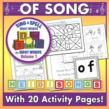 Sing & Spell Sight Words - OF