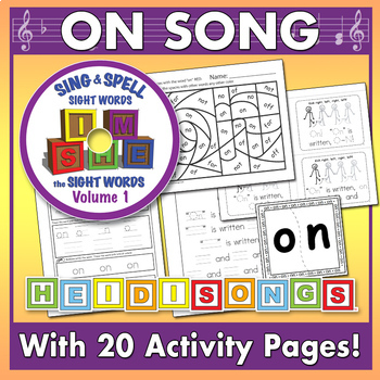 Sing & Spell Sight Words - ON