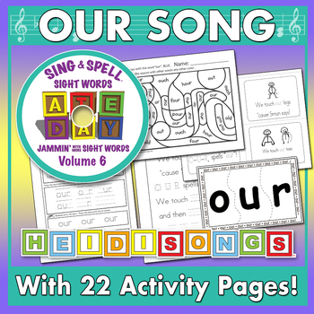 Sing & Spell Sight Words - OUR