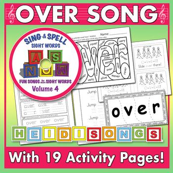 Sing & Spell Sight Words - OVER