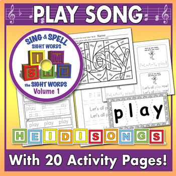 Sing & Spell Sight Words - PLAY