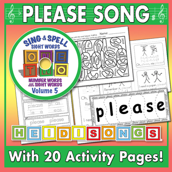 Sing & Spell Sight Words - PLEASE
