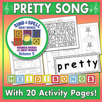 Sing & Spell Sight Words - PRETTY