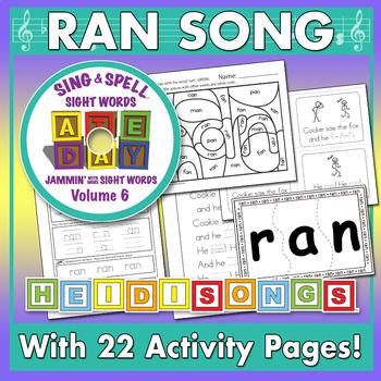 Sing & Spell Sight Words - RAN