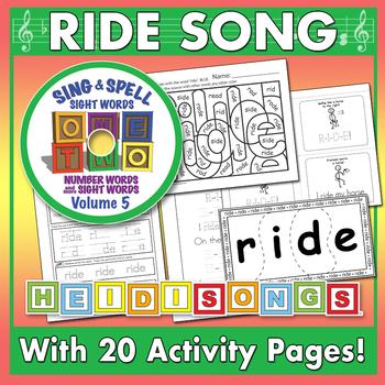 Sing & Spell Sight Words - RIDE