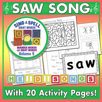 Sing & Spell Sight Words - SAW