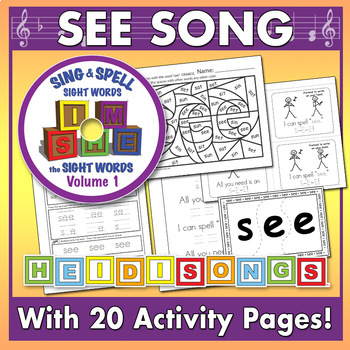 Sing & Spell Sight Words - SEE