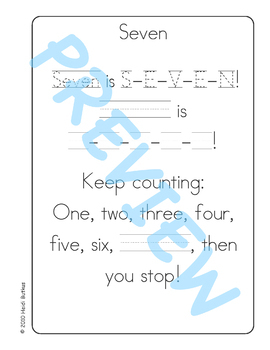 Sing & Spell Sight Words - SEVEN