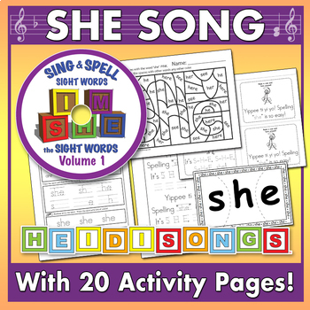 Sing & Spell Sight Words - SHE