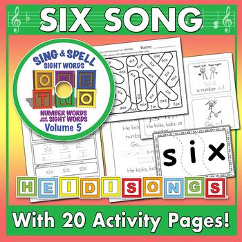 Sing & Spell Sight Words - SIX