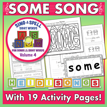 Sing & Spell Sight Words - SOME