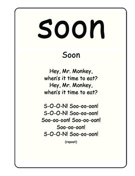 Sing & Spell Sight Words - SOON