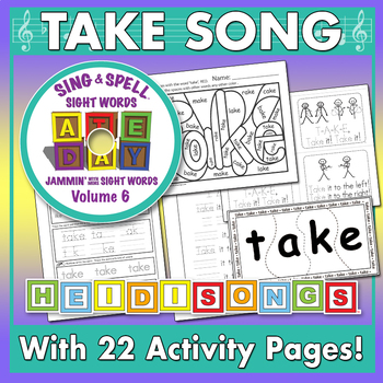 Sing & Spell Sight Words - TAKE