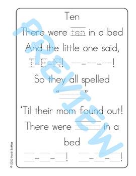Sing & Spell Sight Words - TEN