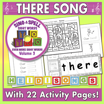 Sing & Spell Sight Words - THERE