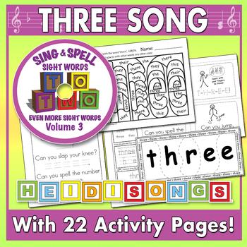Sing & Spell Sight Words - THREE
