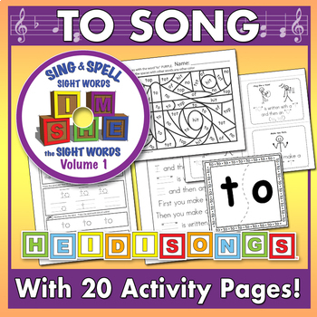 Sing & Spell Sight Words - TO