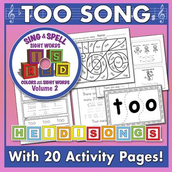 Sing & Spell Sight Words - TOO