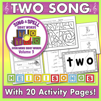Sing & Spell Sight Words - TWO