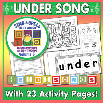 Sing & Spell Sight Words - UNDER