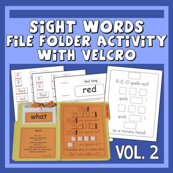 Sing & Spell Sight Words Vol. 2 Velcro Manipulative