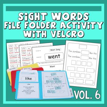 Sing & Spell Sight Words Vol. 6 Velcro Manipulative