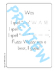 Sing & Spell Sight Words - WAS