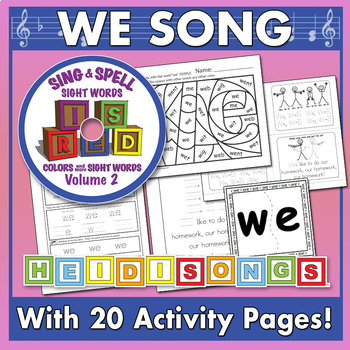 Sing & Spell Sight Words - WE
