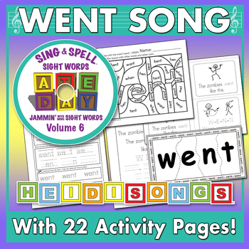 Sing & Spell Sight Words - WENT