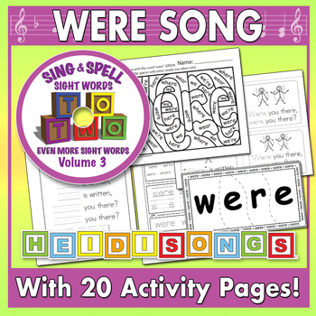 Sing & Spell Sight Words - WERE