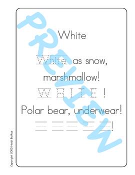 Sing & Spell Sight Words - WHITE
