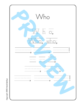 Sing & Spell Sight Words - WHO