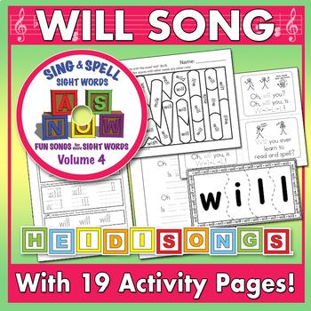 Sing & Spell Sight Words - WILL