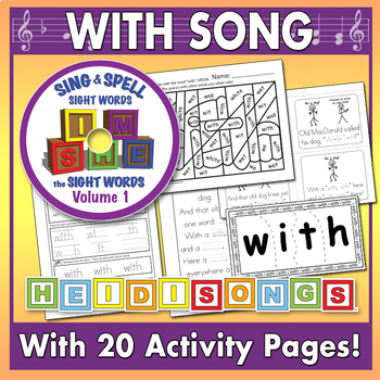 Sing & Spell Sight Words - WITH