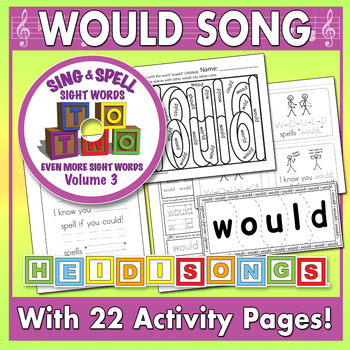 Sing & Spell Sight Words - WOULD