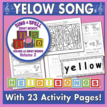 Sing & Spell Sight Words - YELLOW