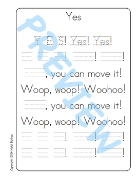 Sing & Spell Sight Words - YES