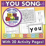 Sing & Spell Sight Words - YOU