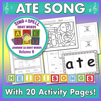 Sing & Spell Sight words - ATE