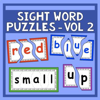 Sight Word Puzzles Vol. 2 - Heidi Songs