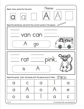Sight Words Worksheets, Mini-Songbooks, and Flashcards Vol. 4
