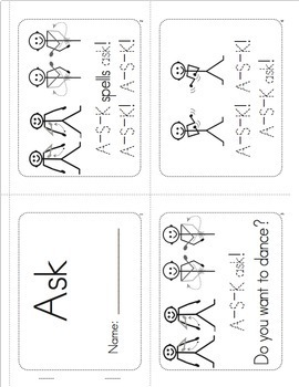 Sight Words Worksheets, Mini-Songbooks, and Flashcards- Vol. 6