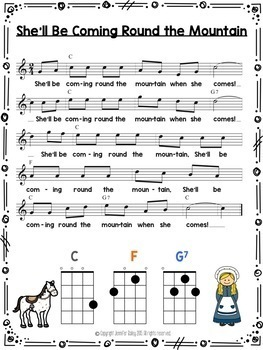 Sing & Strum Ukulele: Student Book 3 {3 Chord Songs}