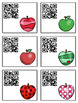 Science Task Cards - Sing, Think & Move with APPLES {QR Codes}