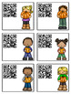 Science Task Cards - Sing, Think & Move with PUMPKINS {QR Codes}